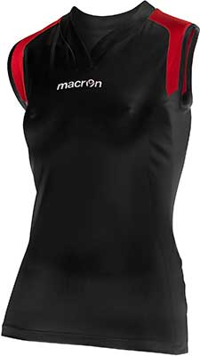 Macron Tungsten volleyball kit black