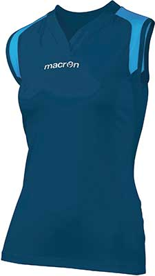Macron Tungsten volleyball kit navy