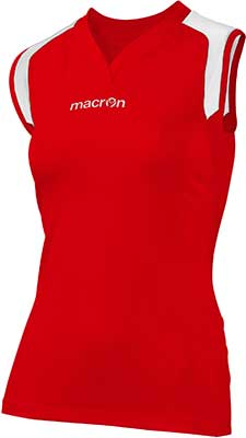 Macron Tungsten volleyball kit red