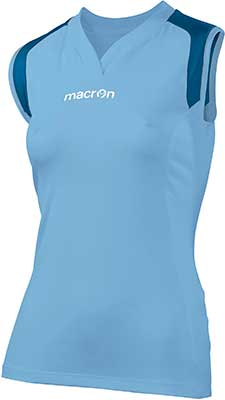 Macron Tungsten volleyball kit sky