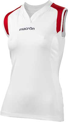Macron Tungsten volleyball kit white