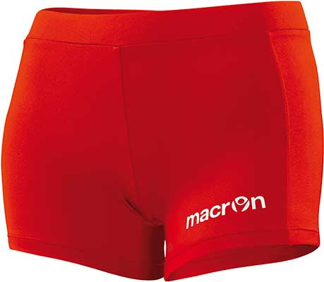 macron krypton shorts red
